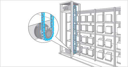 Automated Warehouse illustration