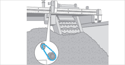 Raw Garbage Agitator illustration